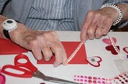 valentine cards making